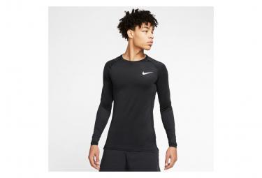 Maillot Manches Longues Nike Pro Noir