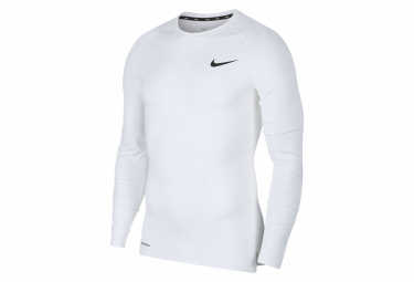 Nike Long Sleeve Jersey Pro White