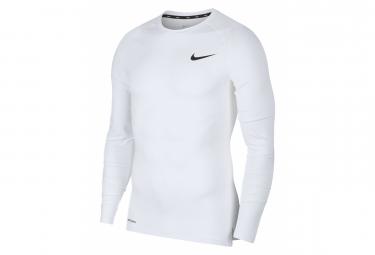 Nike Langarmtrikot Pro Weiß