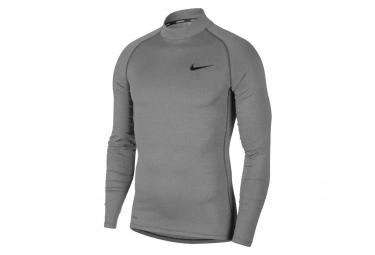 Maglia manica lunga Nike Uomo Pro Grigio
