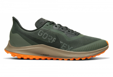 Nike Air Zoom Pegasus 36 Trail Gore-Tex Running shoes Green Orange