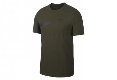 Camiseta de manga corta Nike Hombre Dri-Fit Athlete Green