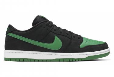 Paire de Chaussures Nike SB Dunk Low Pro Noir / Vert