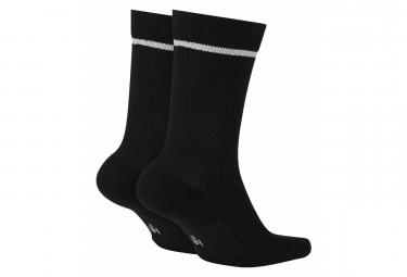 Pair of Nike Socks SNKR AF-1 Black / White