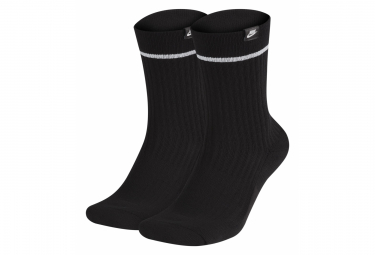 Nike SNKR Essential Socks Black / White
