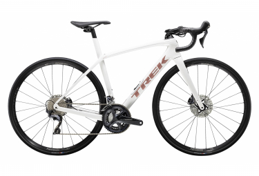 Womens Road Loop 2020 Trek Domane SL 6 Disc Shimano Ultegra 11V Crystal White