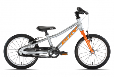 Puky S-Pro 16-1 Alu Kids Bike 16'' Argent / Orange