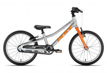 Vélo Enfant PUKY S-Pro 18-1 Alu argent / orange