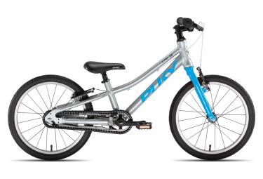 VTT Enfant Puky S-Pro 18-1 Alu 18'' Argent / Bleu 5 - 6 ans