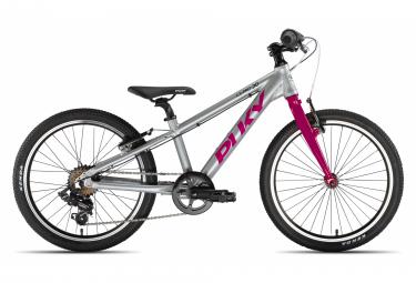 PUKY S-Pro 20-7 Alu vélo enfant argent / berry