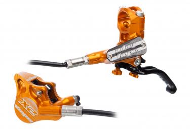Hope Tech 3 X2 Flat Mount Orange Vorderradbremse (ohne Scheibe)