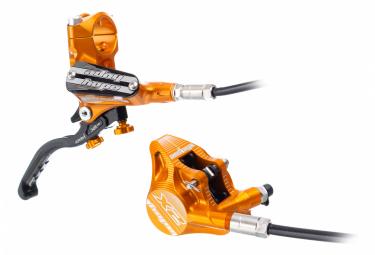 Hope Tech 3 X2 Flat Mount Orange Hinterradbremse (keine Scheibe)