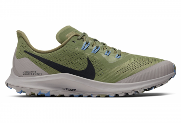 Nike Air Zoom Pegasus 36 Trail Running shoes Green Grey