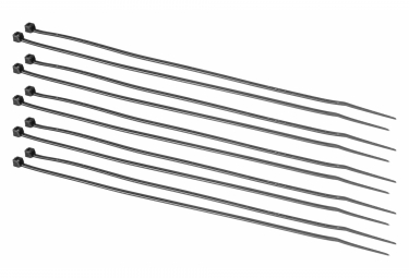 Colliers Plastique Neatt 203x2.5mm x10 Noir