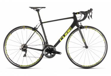 Vélo de Route Cube Litening C:68 SL Shimano Dura Ace 11V 2019 Noir / Jaune