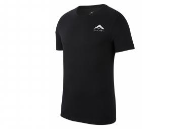Camiseta de Manga Corta Nike Dri-Fit Trail Logo Negro