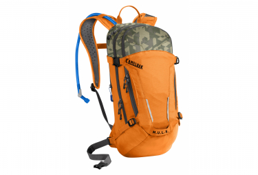 MULE 3L Orange / Khaki Hydration Backpack