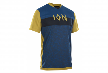 ION Scrub Short Sleeve Jersey AMP Blue / Yellow