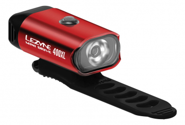 Lezyne Mini Drive 400xl Front Light Red