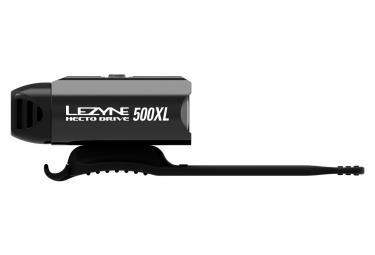 Éclairage Avant Lezyne Hecto Drive 500XL Noir