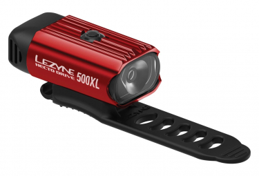 Lezyne Hecto Drive 500XL Front Light Red