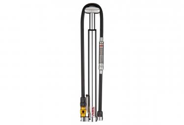 Pompe à Pied Lezyne Micro Floor Drive HPG (Max 160 psi / 11 bar) Argent