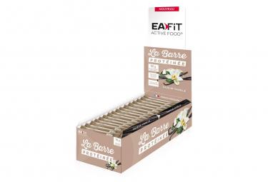 EAFIT Barre Protéinée Présentoir de 24 Barres de 46g - Vanille