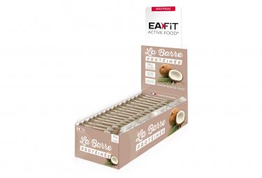 EAFIT Barre Protéinée Présentoir de 24 Barres de 46g - Noix de coco