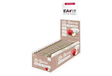 EAFIT Barre Protéinée Présentoir de 24 Barres de 46g - Pomme/Yaourt