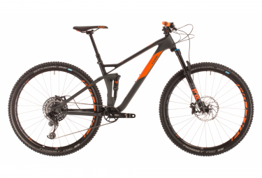 MTB Doble Suspensión Cube Stereo 120 HPC TM 29 29'' Gris / Orange 2020