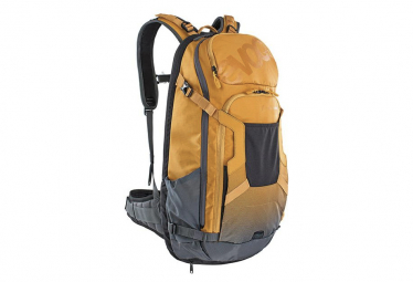 Evoc FR Trail E-Ride 20L Backpack Yellow Grey