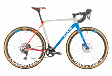 Cube Cyclocross Bike Cross Race C:62 SL Teamline Shimano GRX 11s Blue / Grey 2020