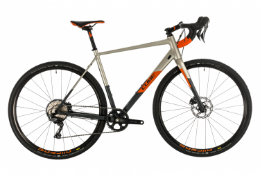 Cube Gravel Bike Nuroad SL Shimano grx 11s Grey / Orange 2020