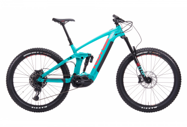 Electric Full Suspension Kona Remote 160 Sram GX/NX Eagle 12S 27.5'' 2020