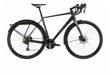 Cube Gravel Bike Nuroad Race FE Black Iridium Shimano GRX11s 2020