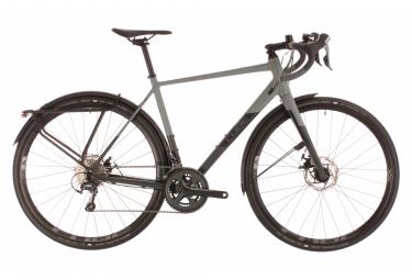 Cube Gravel Bike Nuroad Pro FE Shimano Tiagra 10s Grey / Black 2020