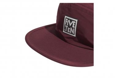 Casquette Five Ten RECYCLED CAP Rouge Noir