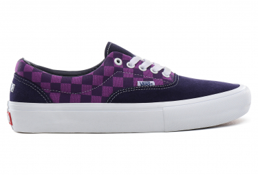 Chaussures Vans Era Pro Baker Kader Purple Check / Violet
