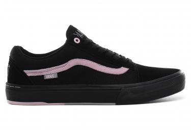 Chaussures Vans Old Skool Pro BMX Matthias Dandois Noir Rose