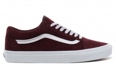 Vans Shoes UA Old Skool Pig Suede Bordeaux