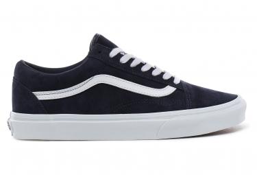 Chaussures Vans UA Old Skool Pig Suede Bleu Foncé