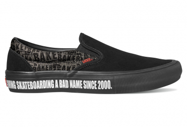 Vans Shoes Slip-On Pro Baker Black / Red