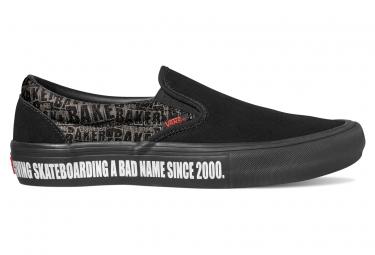Chaussures Vans Slip-On Pro Baker Noir / Rouge
