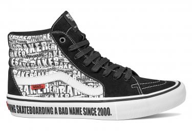 Chaussures Montantes Vans Sk8-Hi Pro Baker Noir / Blanc