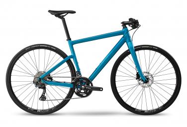 Vélo de Ville Fitness BMC Alpenchallenge 01 Shimano GRX 10V Bleu 2020