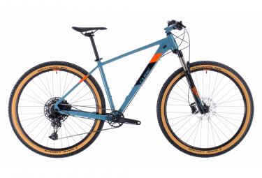 MTB Semi Rígida Cube Acid 27.5'' Bleu / Orange 2020
