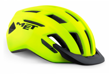 MET Allroad Helmet Yellow Fluo