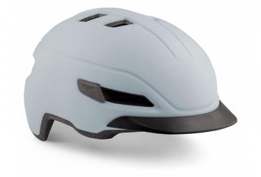 Met Corso Helmet White Glacier Mat M  56 58 Cm