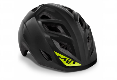 Met Elfo Helmet Black Brillant Unique  46 53 Cm