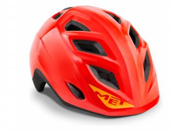 Met Elfo Helmet Red Brillant Unique  46 53 Cm